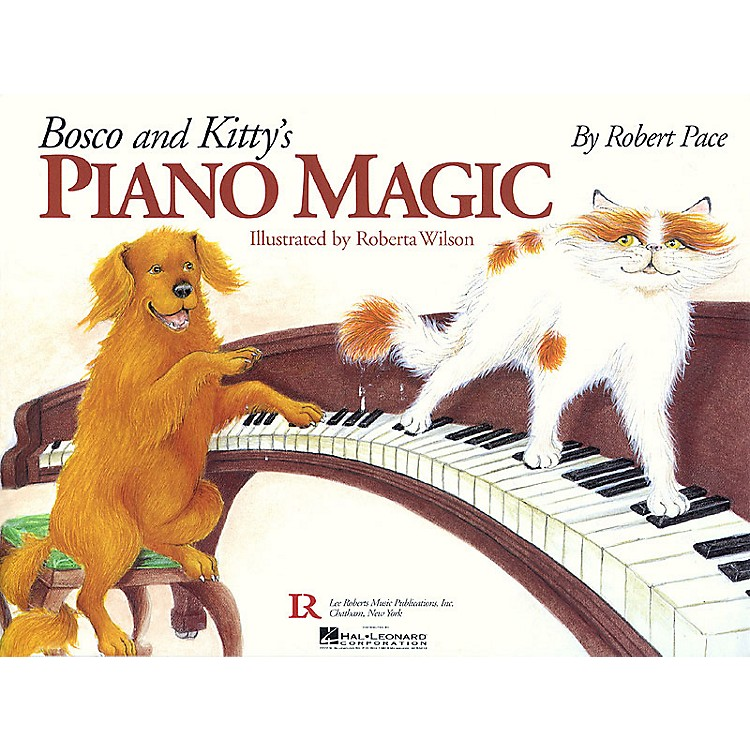 Lee RobertsBosco and Kitty's Piano Magic Pace Piano Education Series Softcover with CD Written by Robert Pace