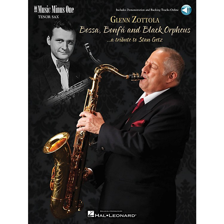 Music Minus OneBossa, Bonfa & Black Orpheus for Tenor Saxophone Music Minus One Series Book with CD by Stan Getz