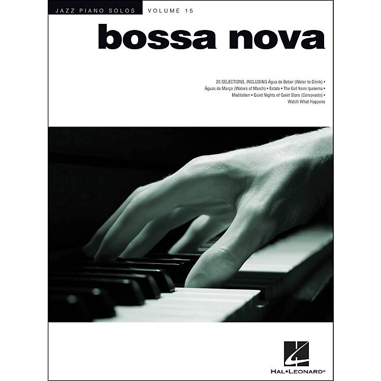 Hal LeonardBossa Nova - Jazz Piano Solos Series Volume 15