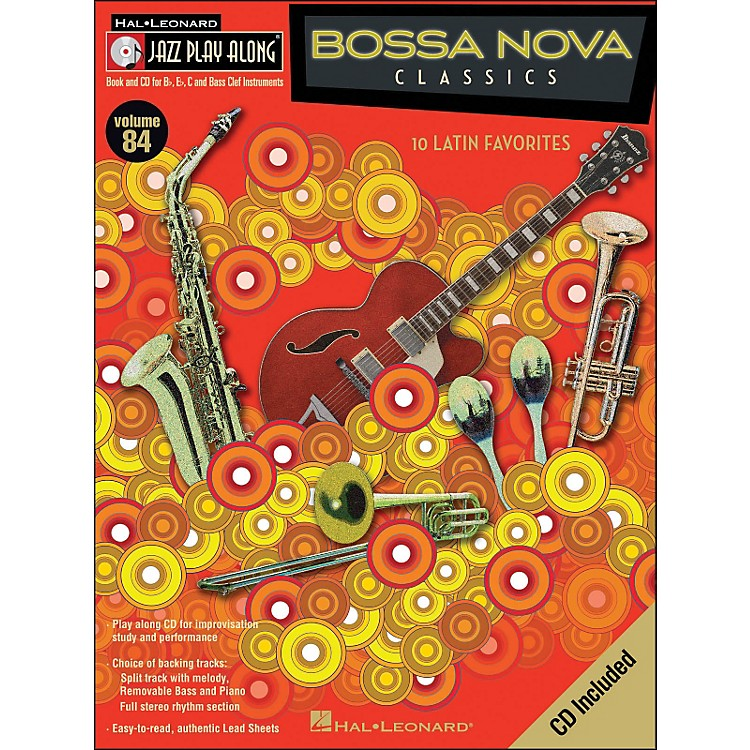 Hal LeonardBossa Nova Classics Jazz Play-Along Volume 84 Book/CD