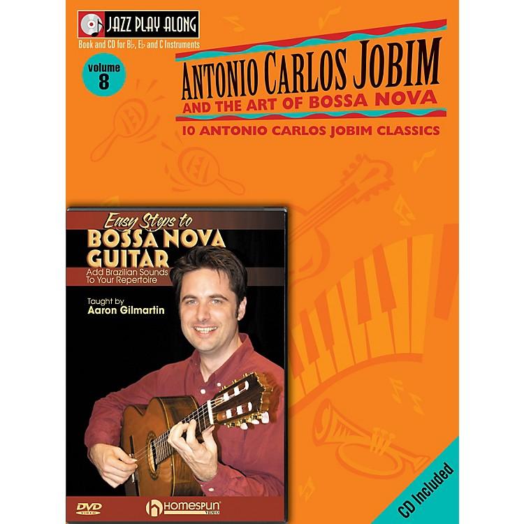 HomespunBossa Nova Guitar Bundle Pack Homespun Tapes Series Written by Aaron Gilmartin