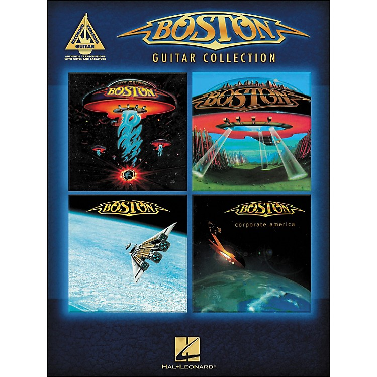 Hal Leonard Boston Guitar Collection Tab Book