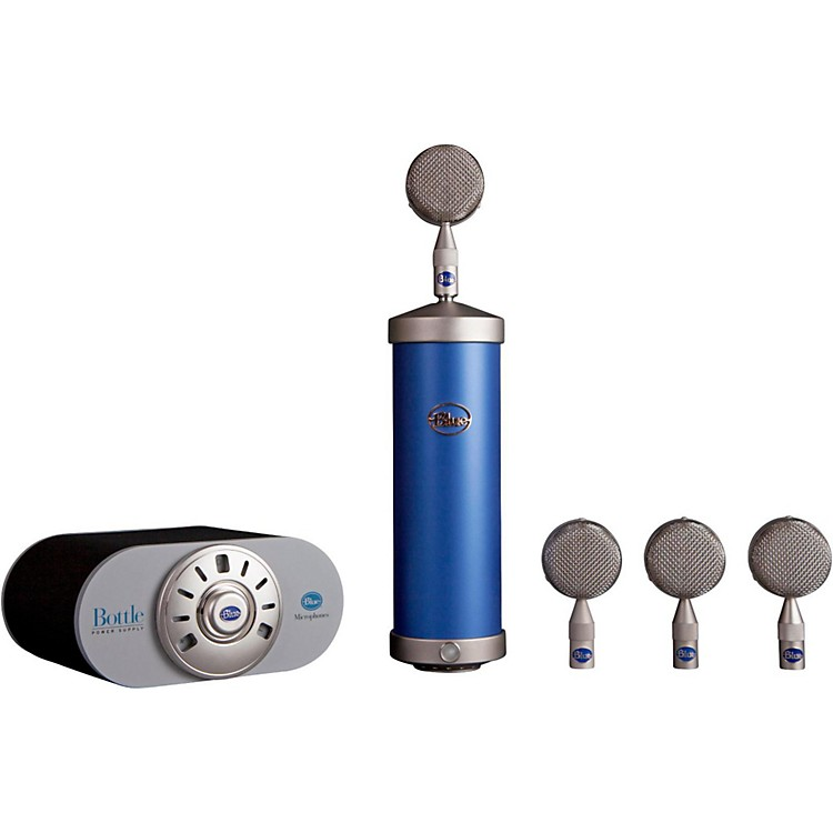 BLUE Bottle Mic Locker Nickel