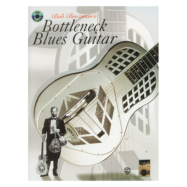 Alfred Bottleneck Blues Guitar Book/CD
