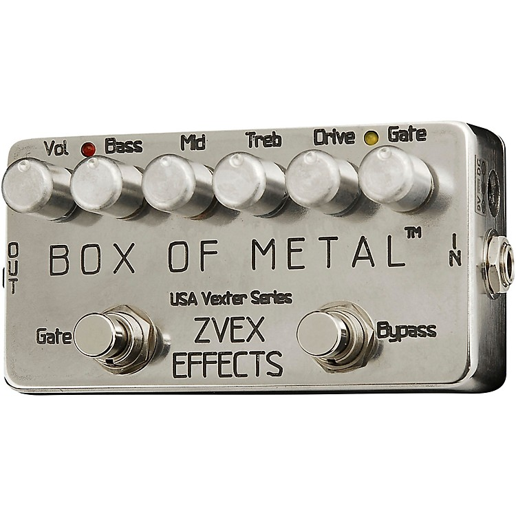 ZVex Box of Metal Vexter Distortion Effects Pedal