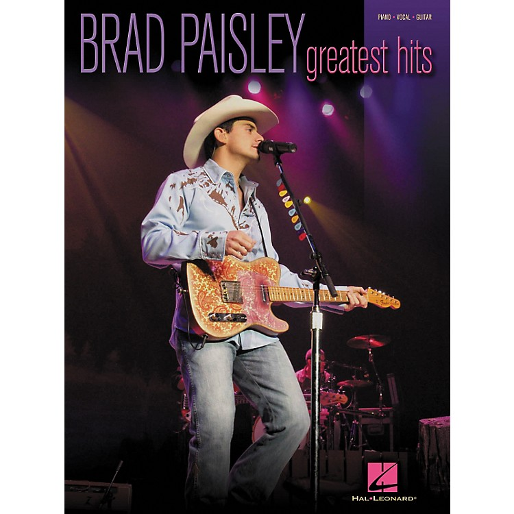 Hal LeonardBrad Paisley - Greatest Hits Piano, Vocal, Guitar Songbook