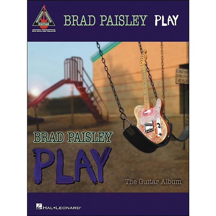 Hal LeonardBrad Paisley - Play (Tab Book)