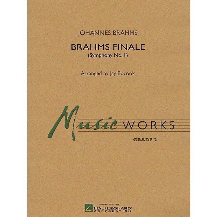 Hal LeonardBrahms Finale (From Symphony No. 1) Concert Band Level 3 Arranged by Jay Bocook