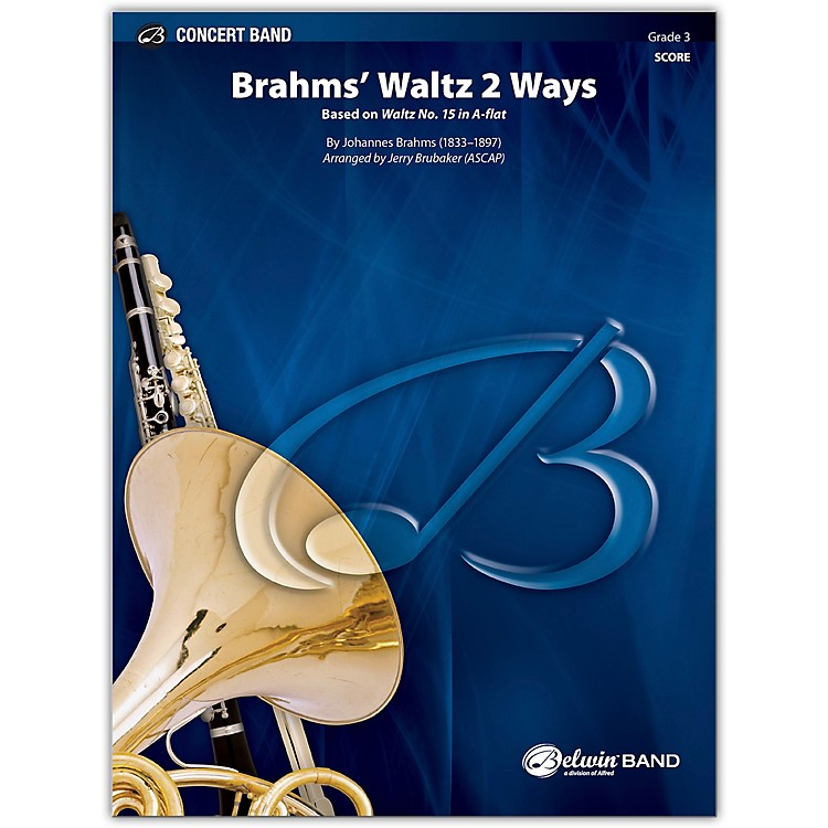 BELWIN Brahms' Waltz 2 Ways Conductor Score 3 (Medium Easy)