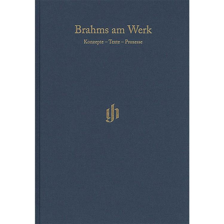 G. Henle VerlagBrahms am Werk Henle Edition Series Hardcover Edited by Michael Struck