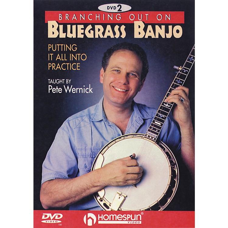 HomespunBranching Out on Bluegrass Banjo 2 (DVD)