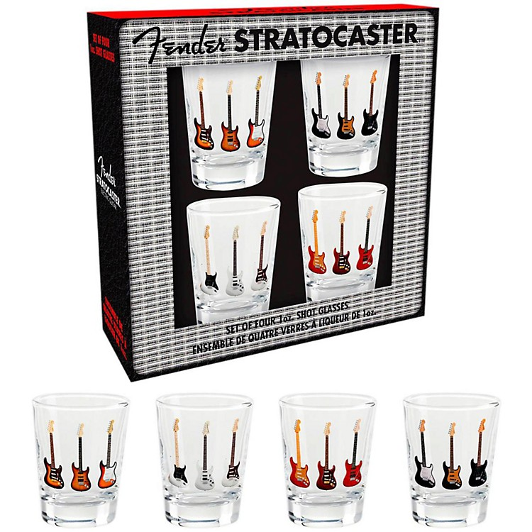 Fender Branded Shotglasses (Set of 4)
