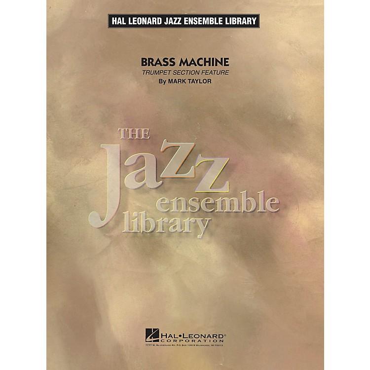 Hal LeonardBrass Machine Jazz Band Level 4 Composed by Mark Taylor