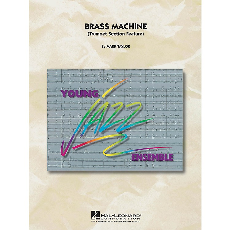Hal Leonard Brass Machine Jazz Band Level 5 Composed by M Taylor