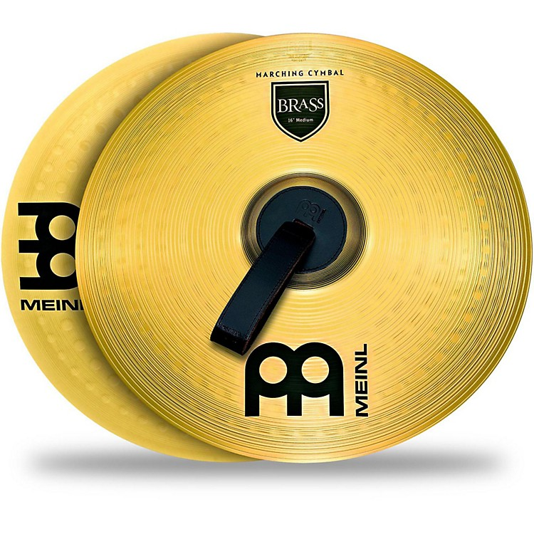 Meinl Brass Marching Cymbal Pair 18 in.