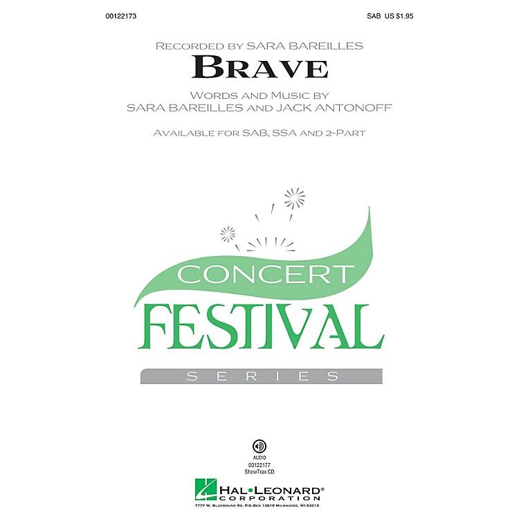 Hal LeonardBrave 2-Part by Sara Bareilles Arranged by Audrey Snyder
