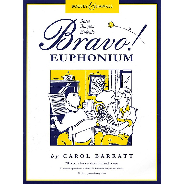Boosey and HawkesBravo! Euphonium (20 Pieces for Euphonium and Piano) Boosey & Hawkes Chamber Music Series by Various