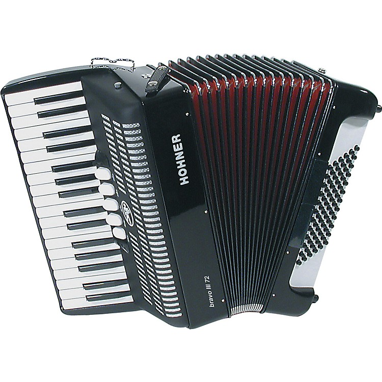 Hohner Bravo III 72 Accordion