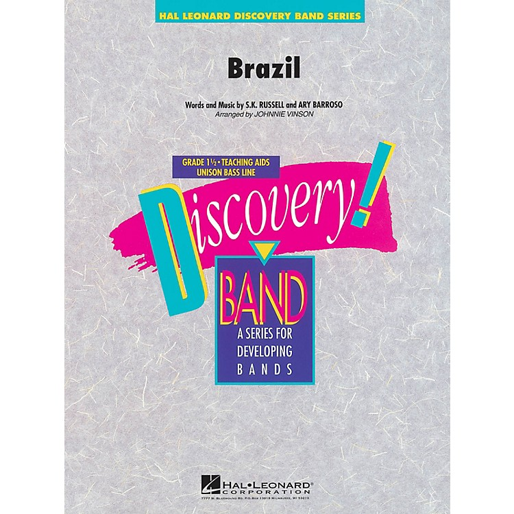Hal Leonard Brazil Concert Band Level 1.5 Arranged by Johnnie Vinson