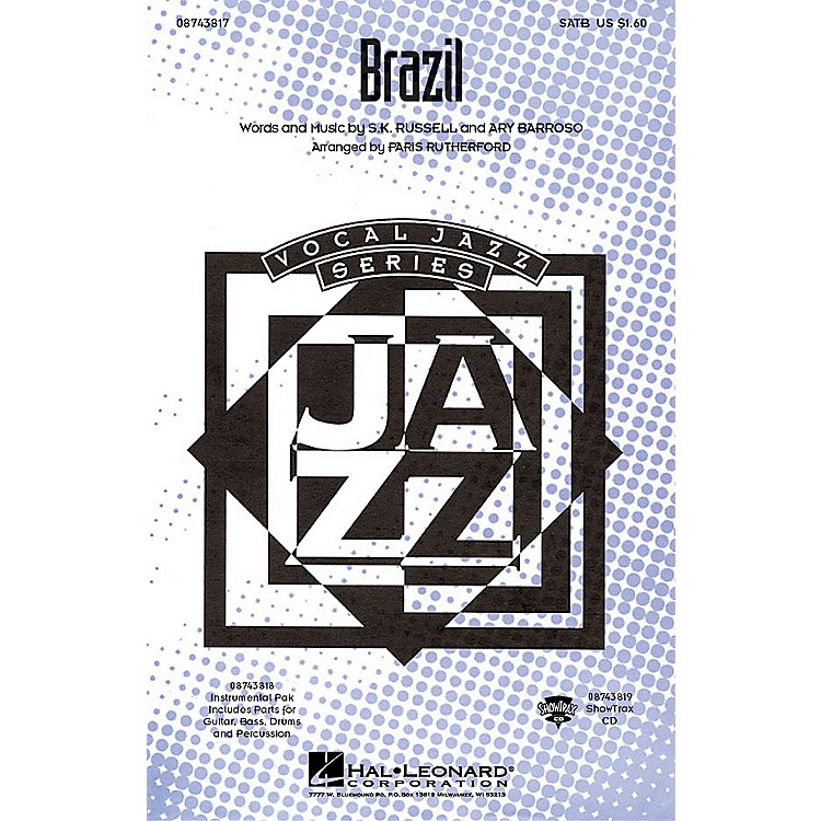 Hal Leonard Brazil IPAKR Arranged by Paris Rutherford