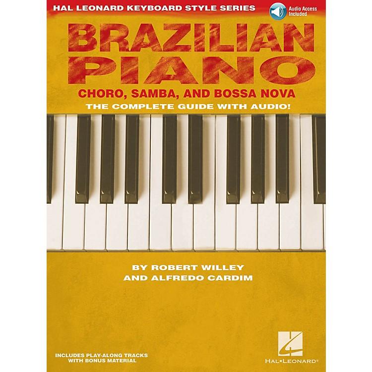 Hal LeonardBrazilian Piano - Choro, Samba, and Bossa Nova Keyboard Instruction by Robert Willey (Book/Online Audio)