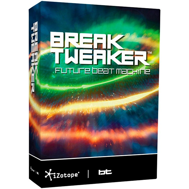 iZotope BreakTweaker Modern Virtual Drum Software