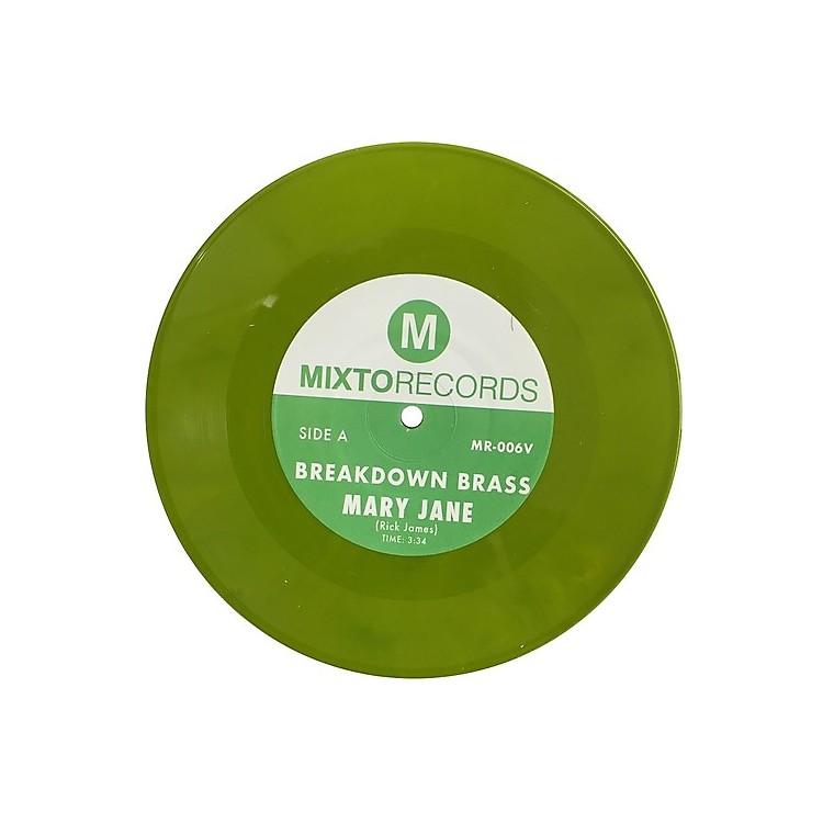 AllianceBreakdown Brass - Mary Jane / The Horseman (green Vinyl 7'')