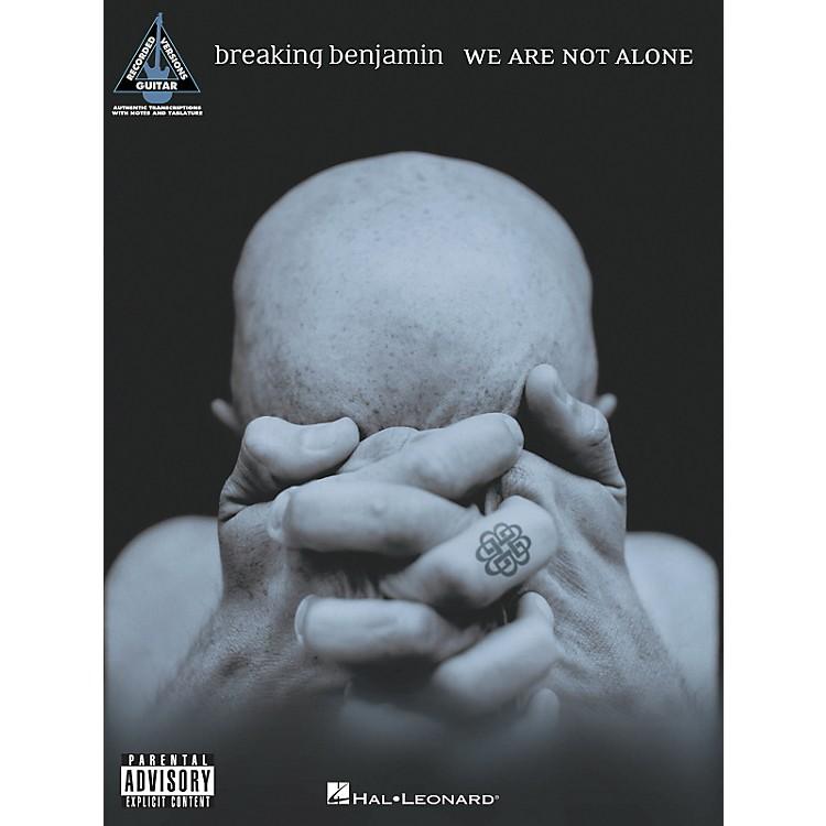 Hal LeonardBreaking Benjamin We Are Not Alone Guitar Tab Songbook