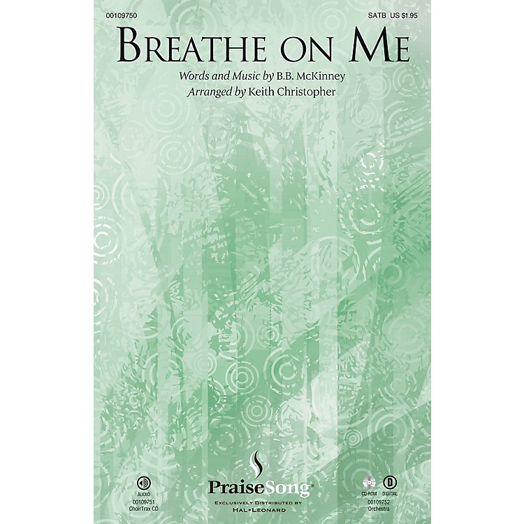 PraiseSongBreathe on Me ORCHESTRA ACCOMPANIMENT Arranged by Keith Christopher