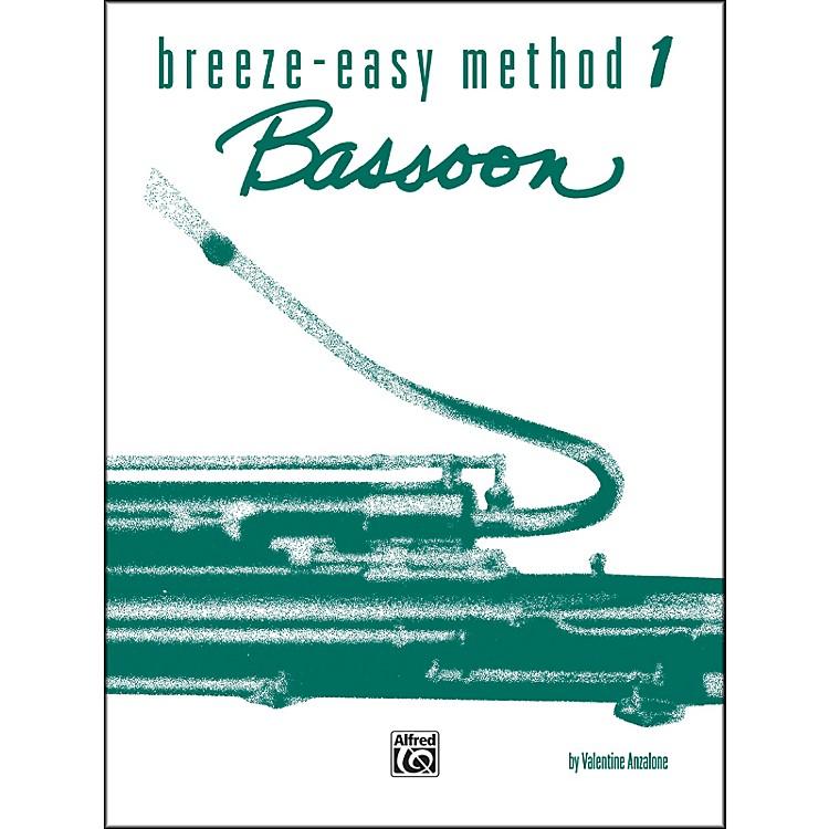 AlfredBreeze-Easy Method for Bassoon Book I