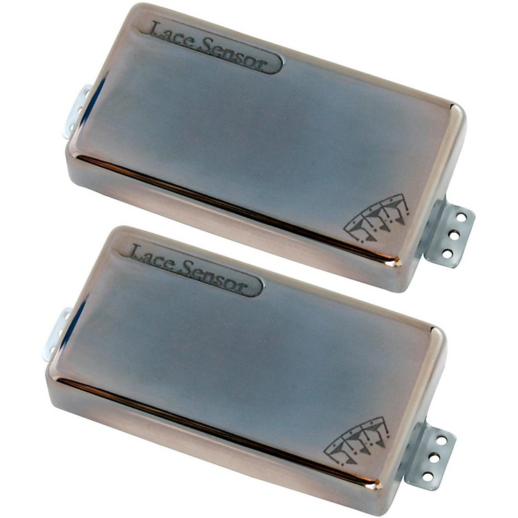 Lace Brent Hinds' Signature Hammer Claws Guitar Pickup Set Smoked Chrome