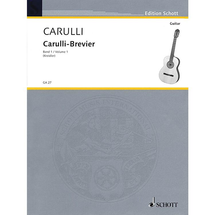 SchottBrevier - Selected Works for Guitar (Volume 1 - Easy) Schott Series
