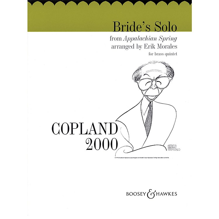 Boosey and HawkesBride's Solo from Appalachian Spring Boosey & Hawkes Chamber Music Series by Aaron Copland