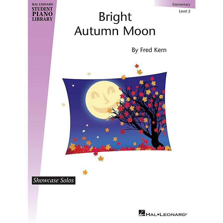 Hal LeonardBright Autumn Moon Piano Library Series by Fred Kern (Level Elem)