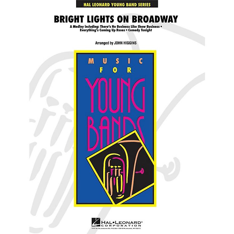 Hal LeonardBright Lights on Broadway - Young Concert Band Level 3 by John Higgins