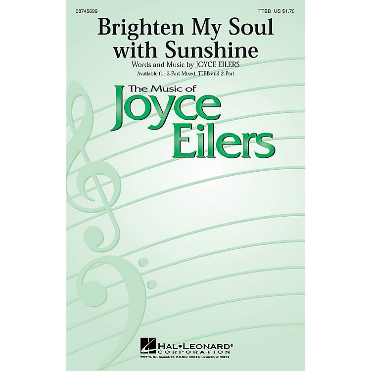 Hal LeonardBrighten My Soul with Sunshine 2-Part Composed by Joyce Eilers