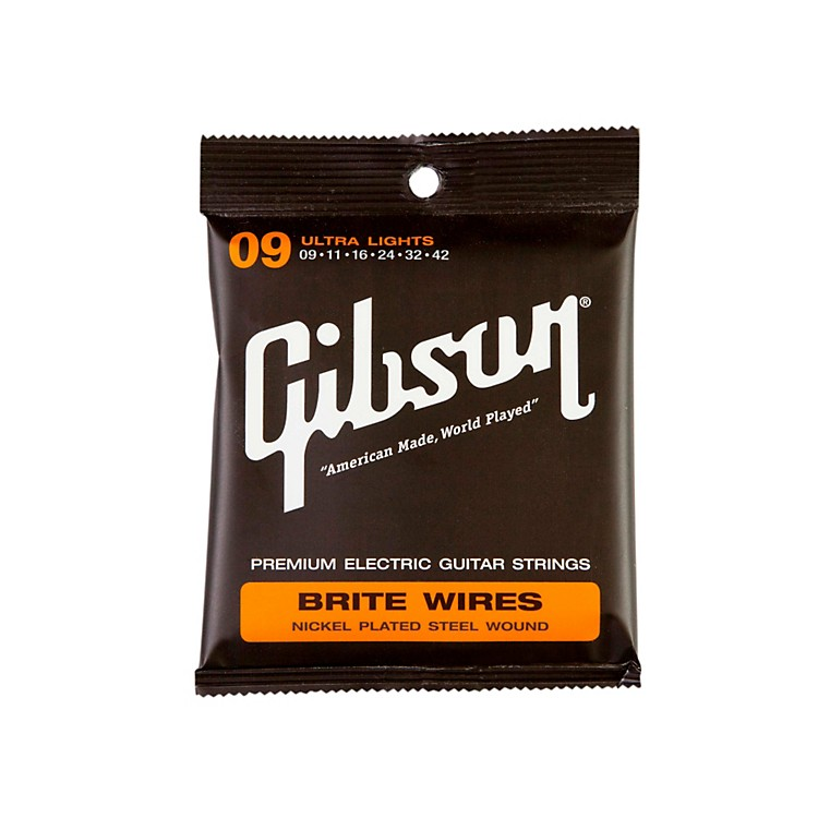 Gibson Brite Wires Ultra Light Guitar Strings (3-Pack)
