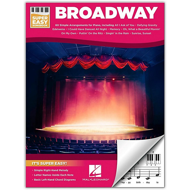Hal Leonard Broadway - Super Easy Songbook