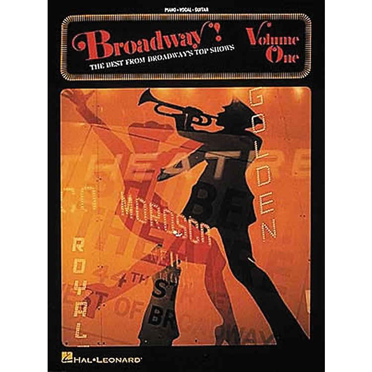 Hal LeonardBroadway! - Volume 1 Piano, Vocal, Guitar Songbook