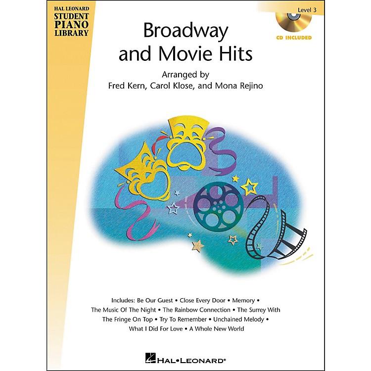 Hal LeonardBroadway And Movie Hits Level 3 Book/CD Hal Leonard Student Piano Library