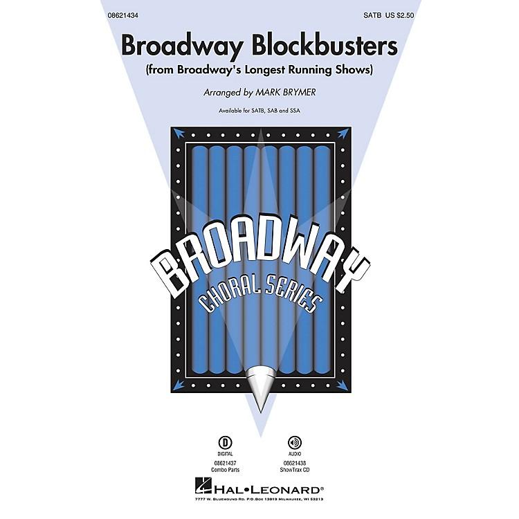 Hal LeonardBroadway Blockbusters (from Broadway's Longest Running Shows) SAB Arranged by Mark Brymer