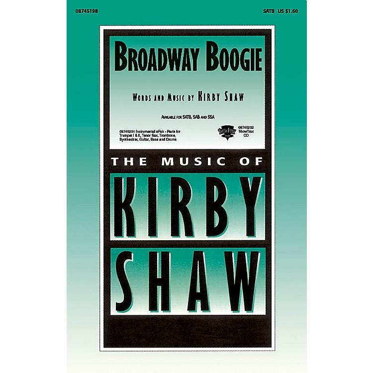 Hal LeonardBroadway Boogie ShowTrax CD Composed by Kirby Shaw