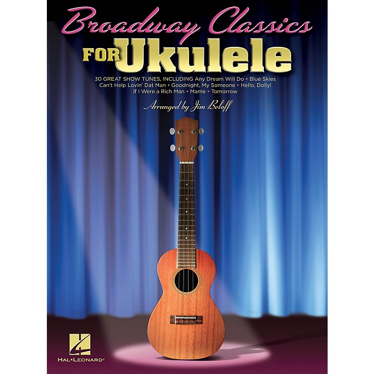 Hal LeonardBroadway Classics For Ukulele Songbook