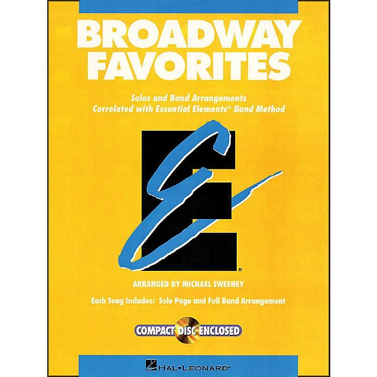 Hal LeonardBroadway Favorites Bass Clarinet Essential Elements Band
