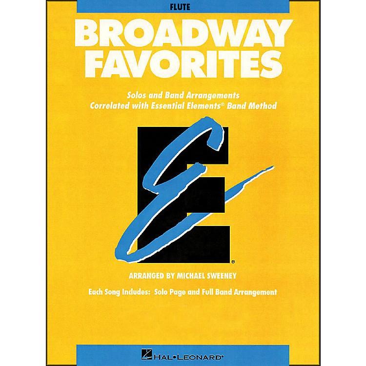 Hal LeonardBroadway Favorites Flute Essential Elements Band