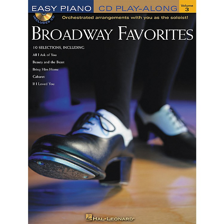 Hal Leonard Broadway Favorites Volume 3 Book/CD Easy Piano CD Play-Along