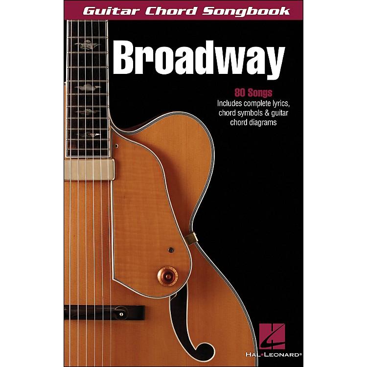 Hal LeonardBroadway Guitar Chord Songbook