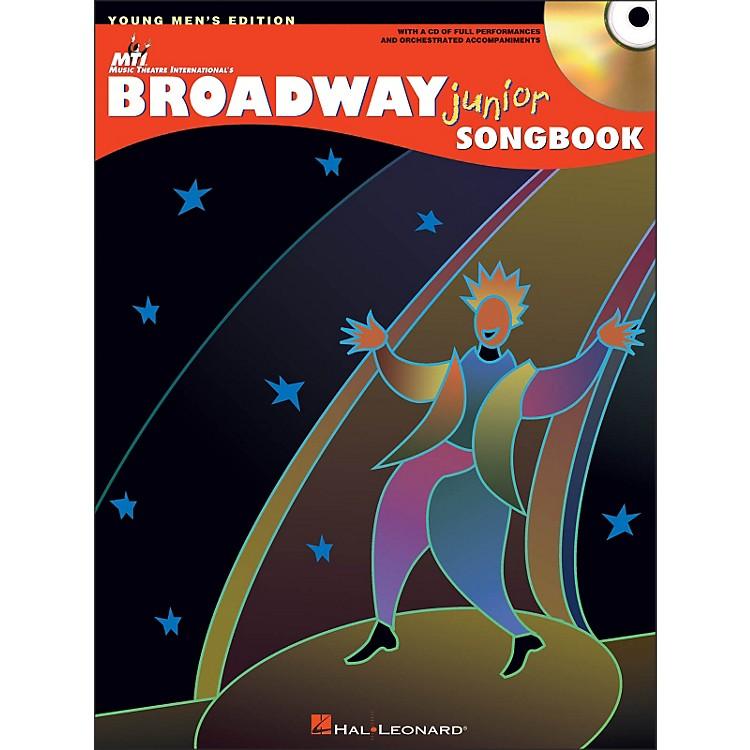 Hal LeonardBroadway Junior Songbook - Young Men's Edition Book/CD