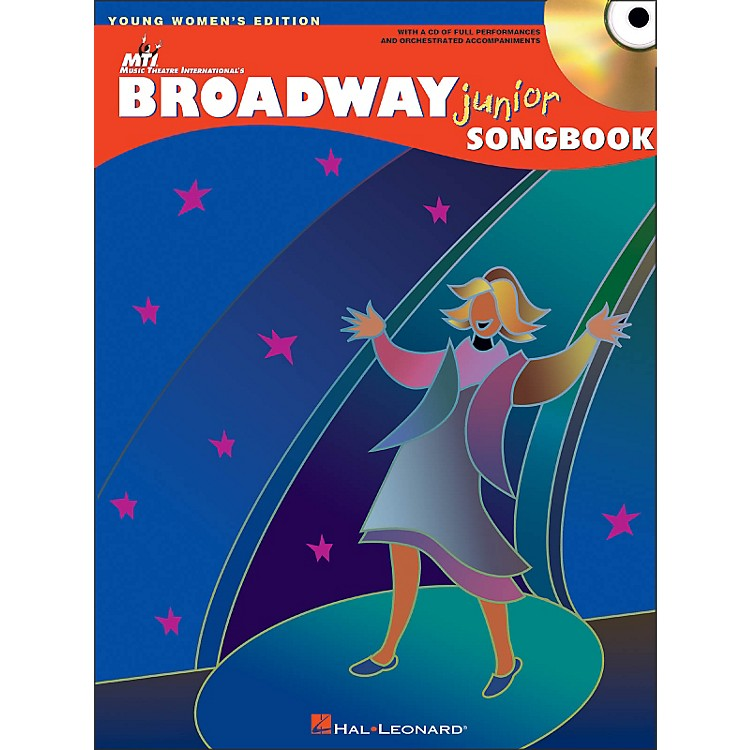 Hal Leonard Broadway Junior Songbook - Young Women's Editon Book/CD