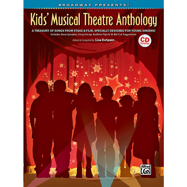 AlfredBroadway Presents! Kids' Musical Theatre Anthology Book & CD